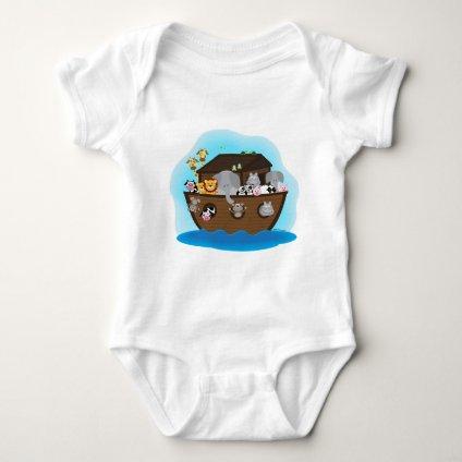 Noah's Ark Baby Bodysuit