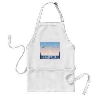North Carolina Airbrush Sunset Apron