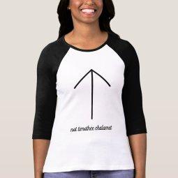 Not Timothée Chalamet 3/4 Sleeve T-shirt