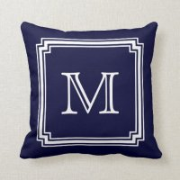 Monogram Pillows - Monogram Throw Pillows | Zazzle