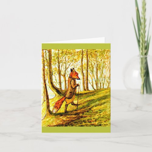 Notecard-Kids Art-Beatrix Potter 4 Card