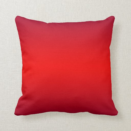 Red Pillows Red Throw Pillows Zazzle