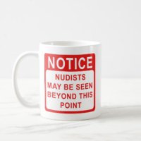 Nudist idea #99: Have a set of Nudist mugs