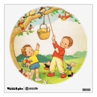Nursery Rhymes Wall Decals & Wall Stickers | Zazzle
