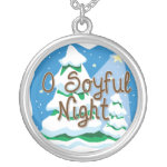 O Soyful Night Silver Plated Necklace