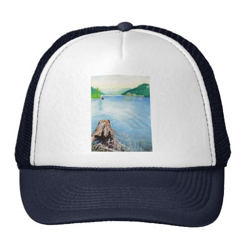 Oakridge Reservoir #4 hat