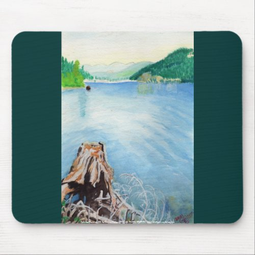Oakridge Reservoir #4 mousepad