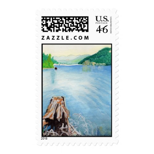 Oakridge Reservoir #4 stamp