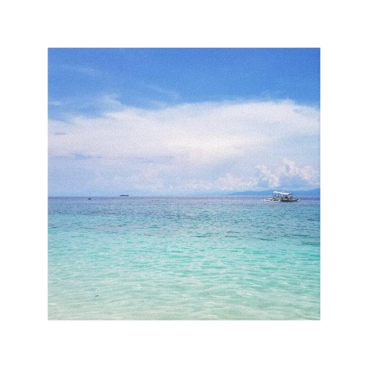Ocean 12 x 12 Canvas Print