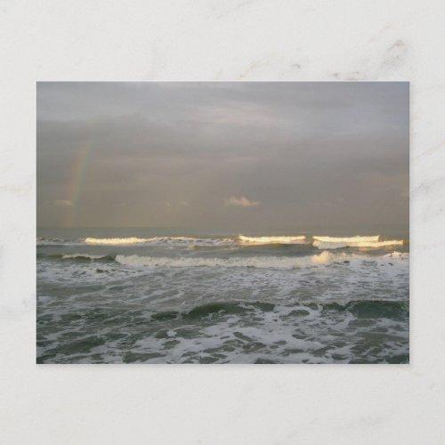 Ocean Surf Postcard postcard