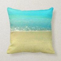 Beach Pillows - Beach Throw Pillows | Zazzle