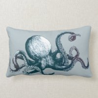 Octopus Pillows - Decorative & Throw Pillows | Zazzle