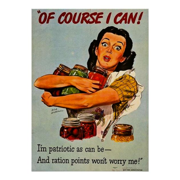Of Course I Can Vintage WWII Propaganda Poster