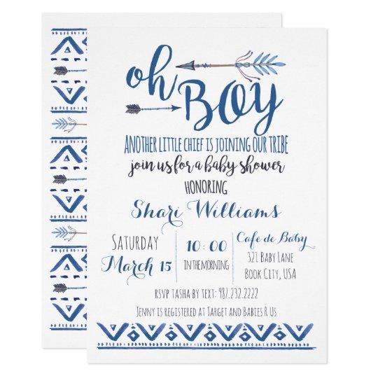 Baby Shower Invitations Ideas Boy