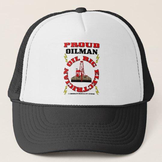 Oil Rig ElectricianElectrician HatSparkie Hat Trucker Hat  Zazzlecom