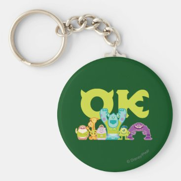 OK - Scare Students Keychain