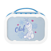 Olaf and Snowflakes Yubo Lunchbox