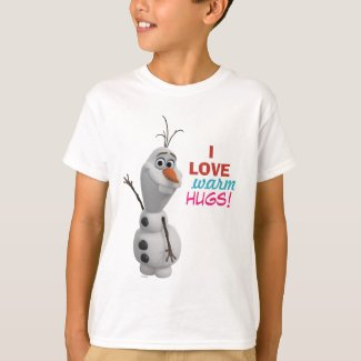 Olaf | I Love Warm Hugs T-Shirt