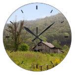 Old Barn Photo Large Clock
