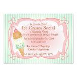 ❤️ Old Fashioned Ice Cream Social! Invitation