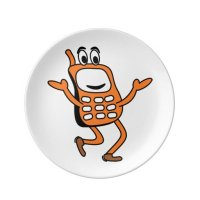 Old mobile cartoon dinner plate | Zazzle