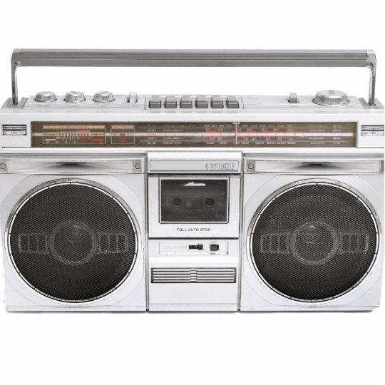 old school boombox radio