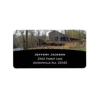 Old Watermill Address Labels