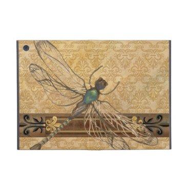 Old World Dragonfly iPad Case