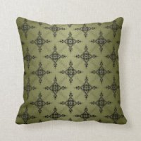 Olive Green Pillows