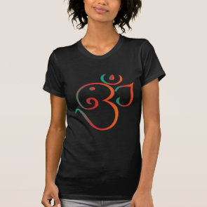 Om-ganpati-green-orange Shirts