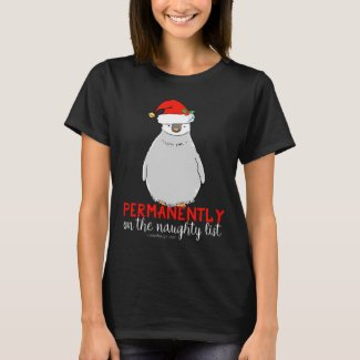 On The Naughty List Penguin T-Shirt