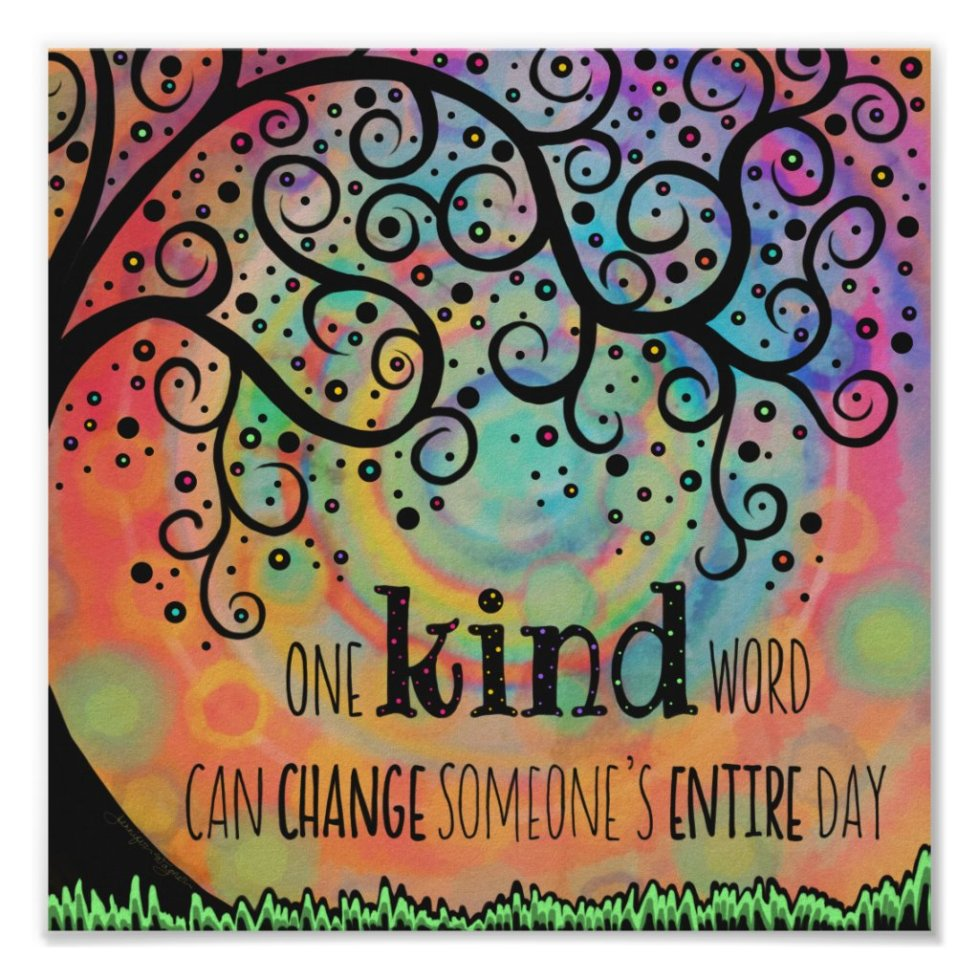 One Kind Word Poster