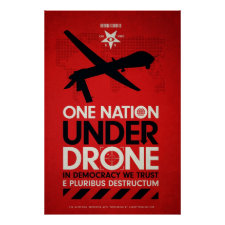 One Nation Under Drones by Von Glitschka Poster