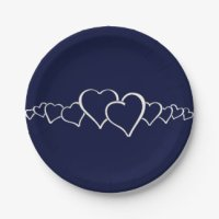 Solid Color Paper Plates | Zazzle