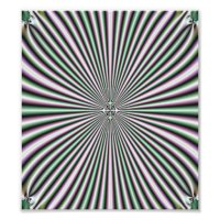 optical illusion wall art photo art
