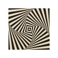 Optical Illusion Wood Wall Art | Zazzle