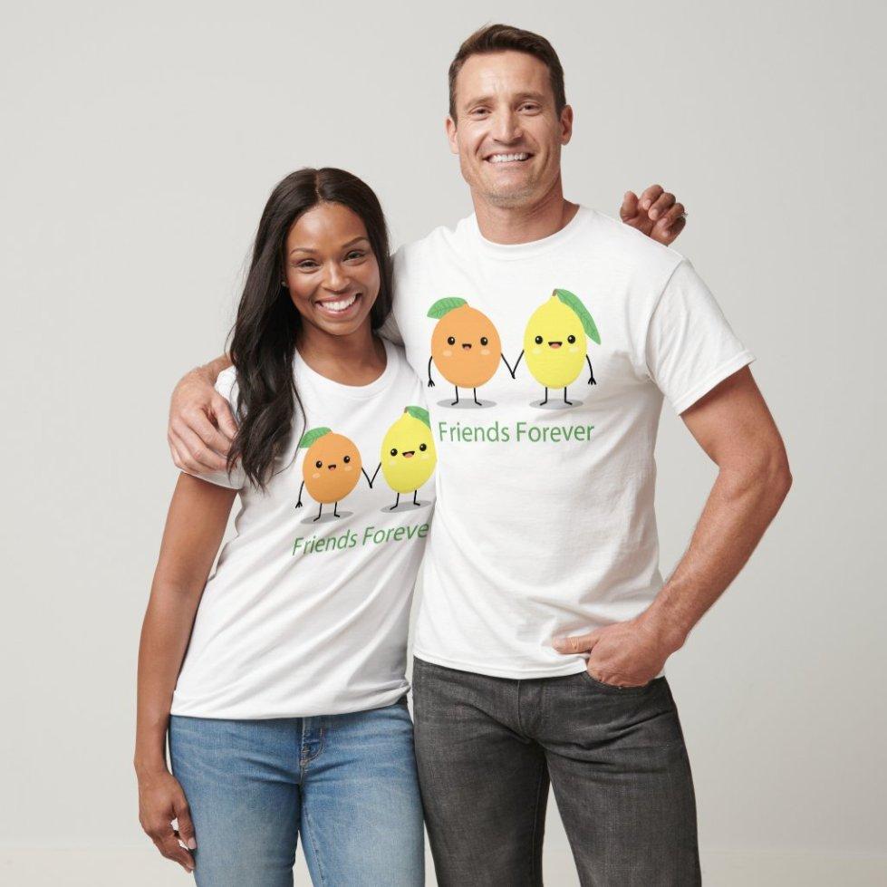 Orange and Lemon Best Friend T-Shirt