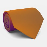 orange and purple tie | Zazzle