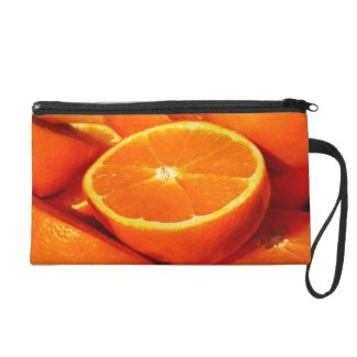 Oranges Photograph Wristlet Purses
