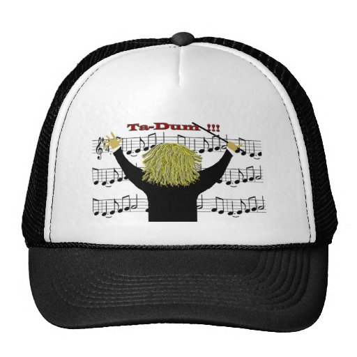 Orchestra Conductor Congratulations Trucker Hat  Zazzle