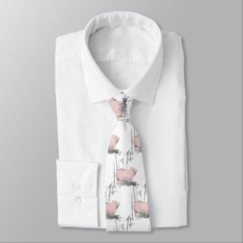Original Pig Bamboos Choose color Tie