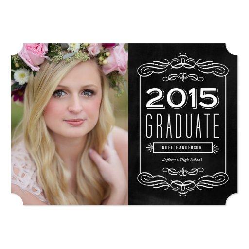 senior announcement templates free - free photoshop template graduation invitation 3