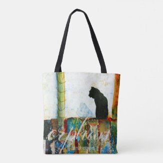 Orphan - Archetype Mixed Media Tote Bag