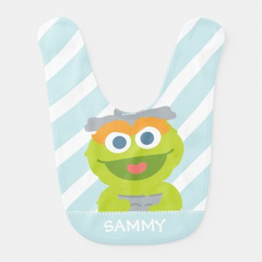 Oscar the Grouch Baby | Add Your Name Bib