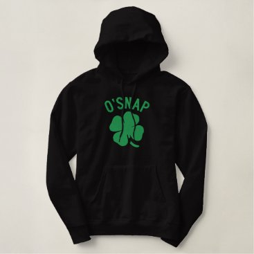 O'SNAP EMBROIDERED HOODIE