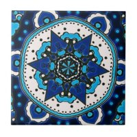 Ottoman Islamic Tile Design With Geometry   Zazzle