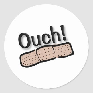 Ouch Stickers