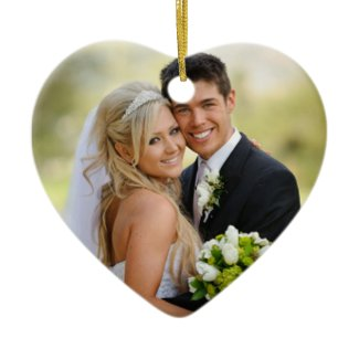 Wedding Photo Ornaments
