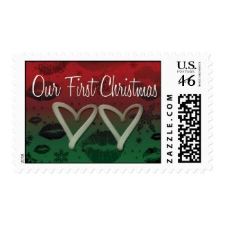 Our First Christmas Postage Stamp stamp