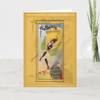 Palace Theatre of Varieties Greeting Cards